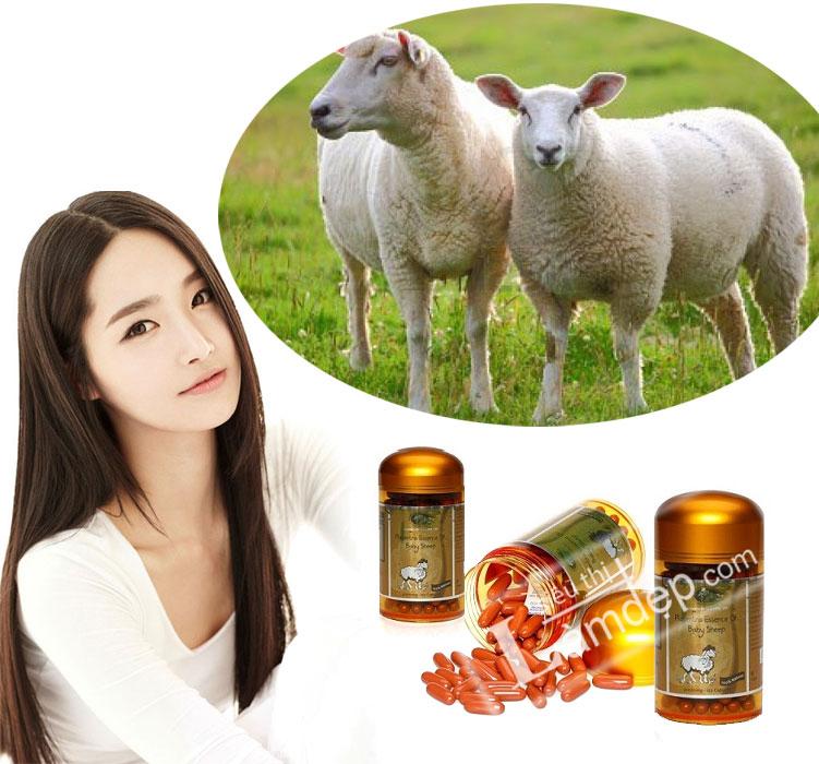 Cách sử dụng nhau thai cừu để trị nám và tàn nhang