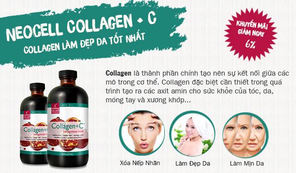 Neocell Collagen + C Pomegranate Liquid 16 Oz