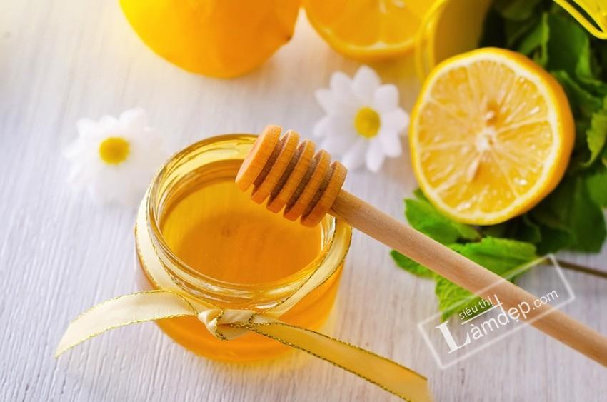 mật ong trị nám