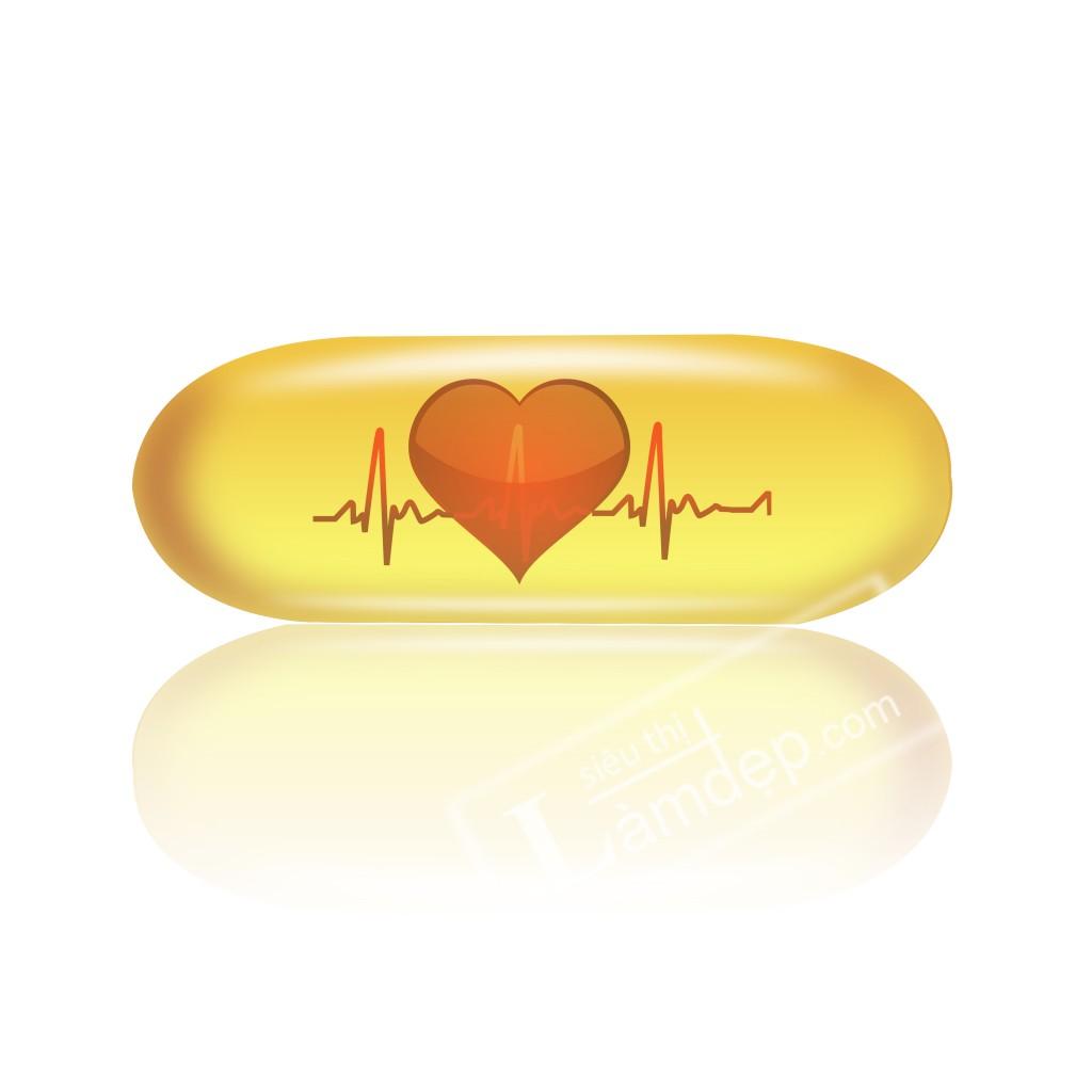 Omega 3 tốt cho tim mạch