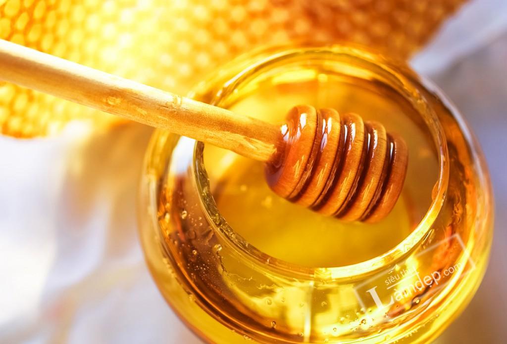 mật ong trị mụn
