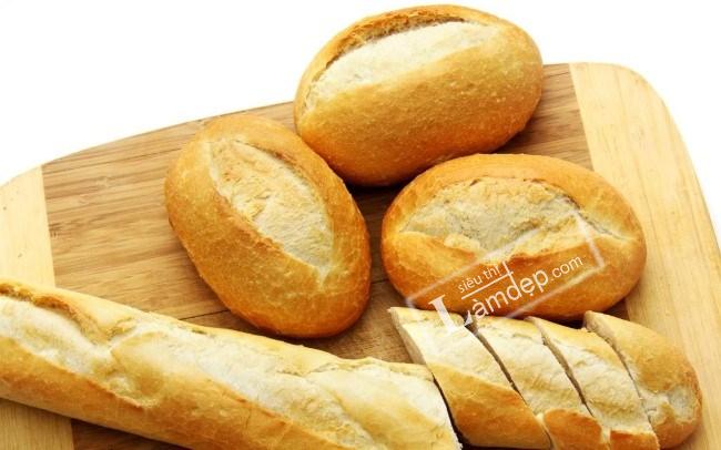 bánh mì làm trắng răng