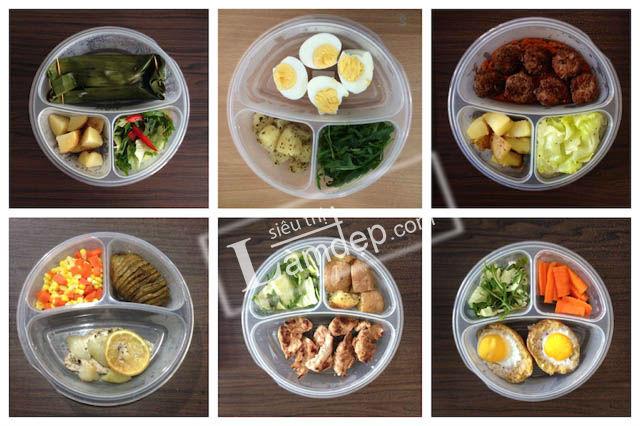 Thực Đơn Ăn Kiêng Giảm Béo An Toàn Trong 1 Tháng