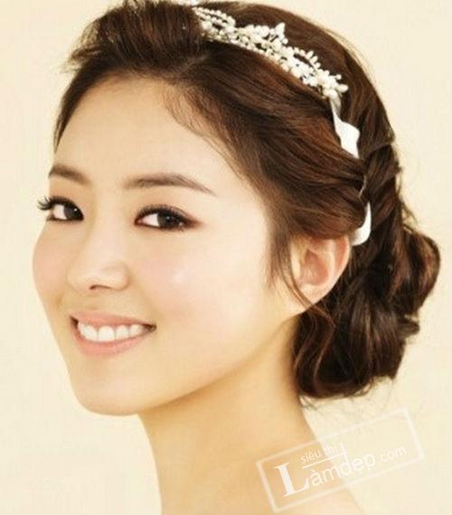 Korean Bridal Makeup 2018 : 5 Ki?u Toc T?t ??p Ho?n H?o Cho CO D?u Ng?y C??i