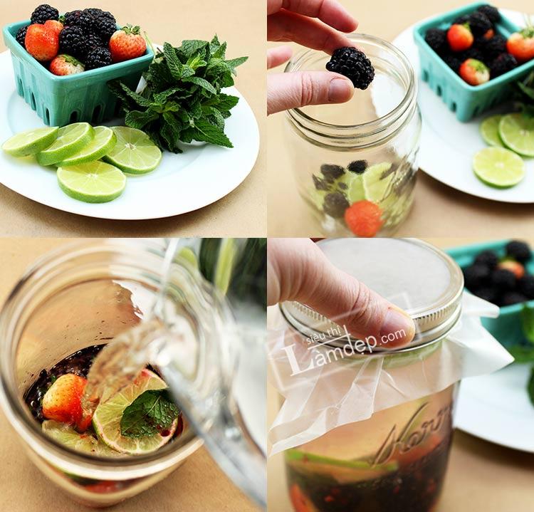 Detox với nước trái cây