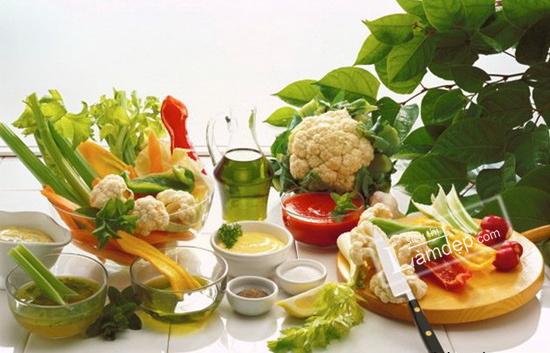 thực phẩm phòng chống ung thư
