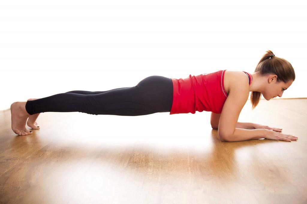 planks giảm cân