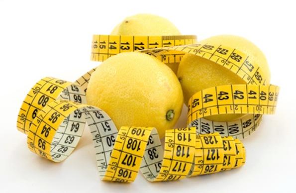 giảm cân bằng chanh
