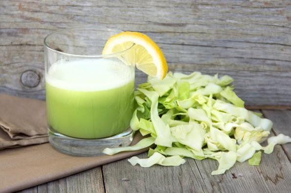 chữa dạ dày bằng nước ép bắp cải