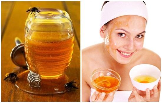 trị nám da với mật ong