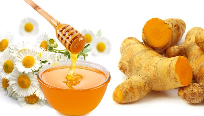 củ nghệ và mật ong -4