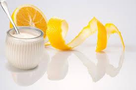 sữa chua và bột vỏ cam -2