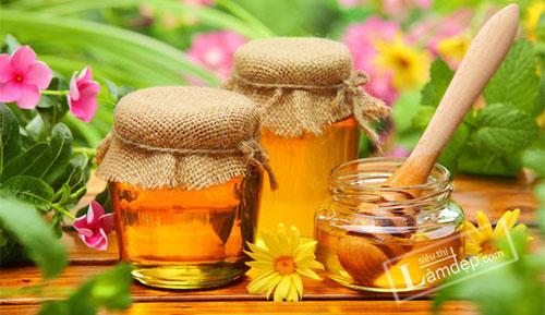 mật ong trị sẹo mụn
