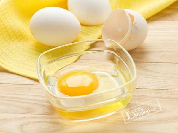 mặt nạ lòng trắng trứng